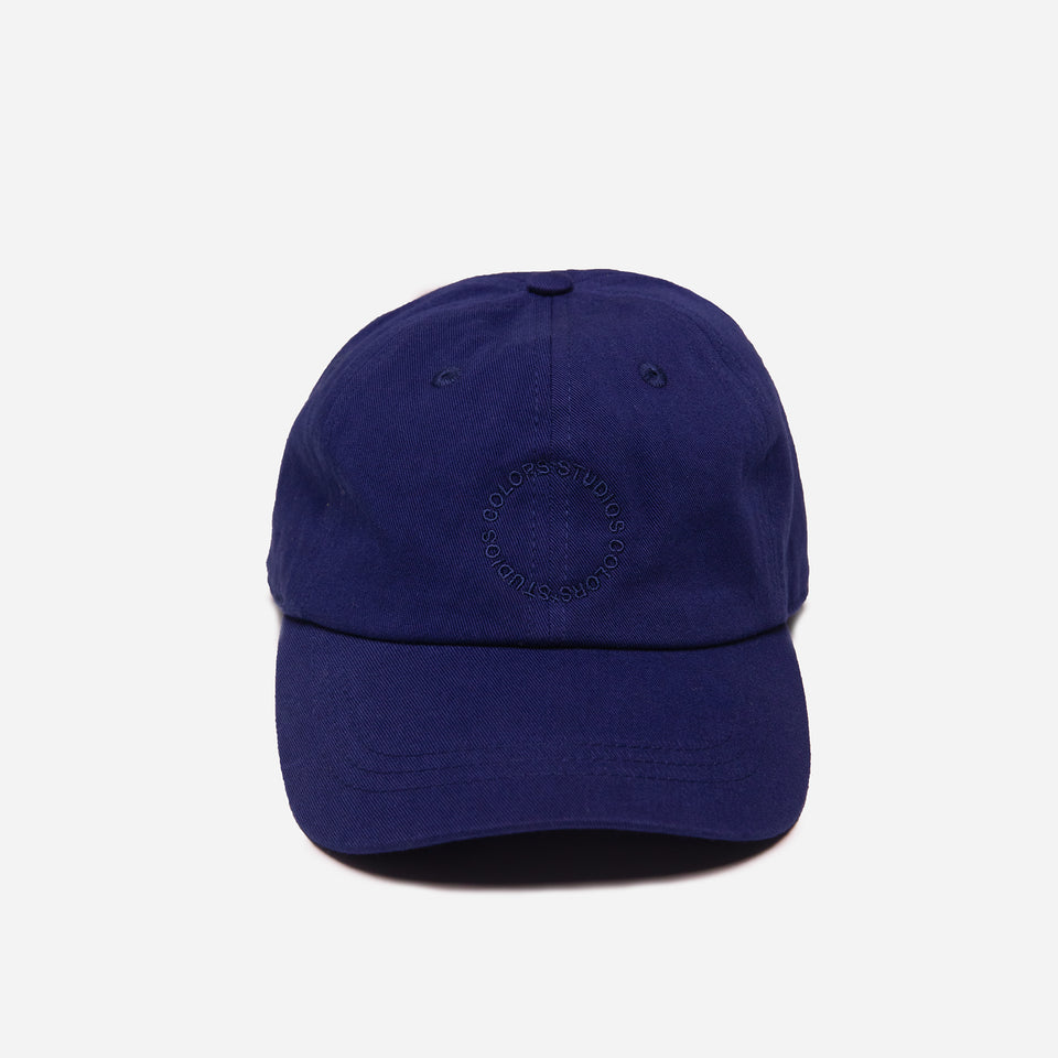 """CIRCLE"" CAP MIDNIGHT BLUE"
