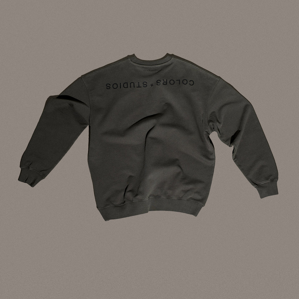 SWEATER 001 GUNPOWDER