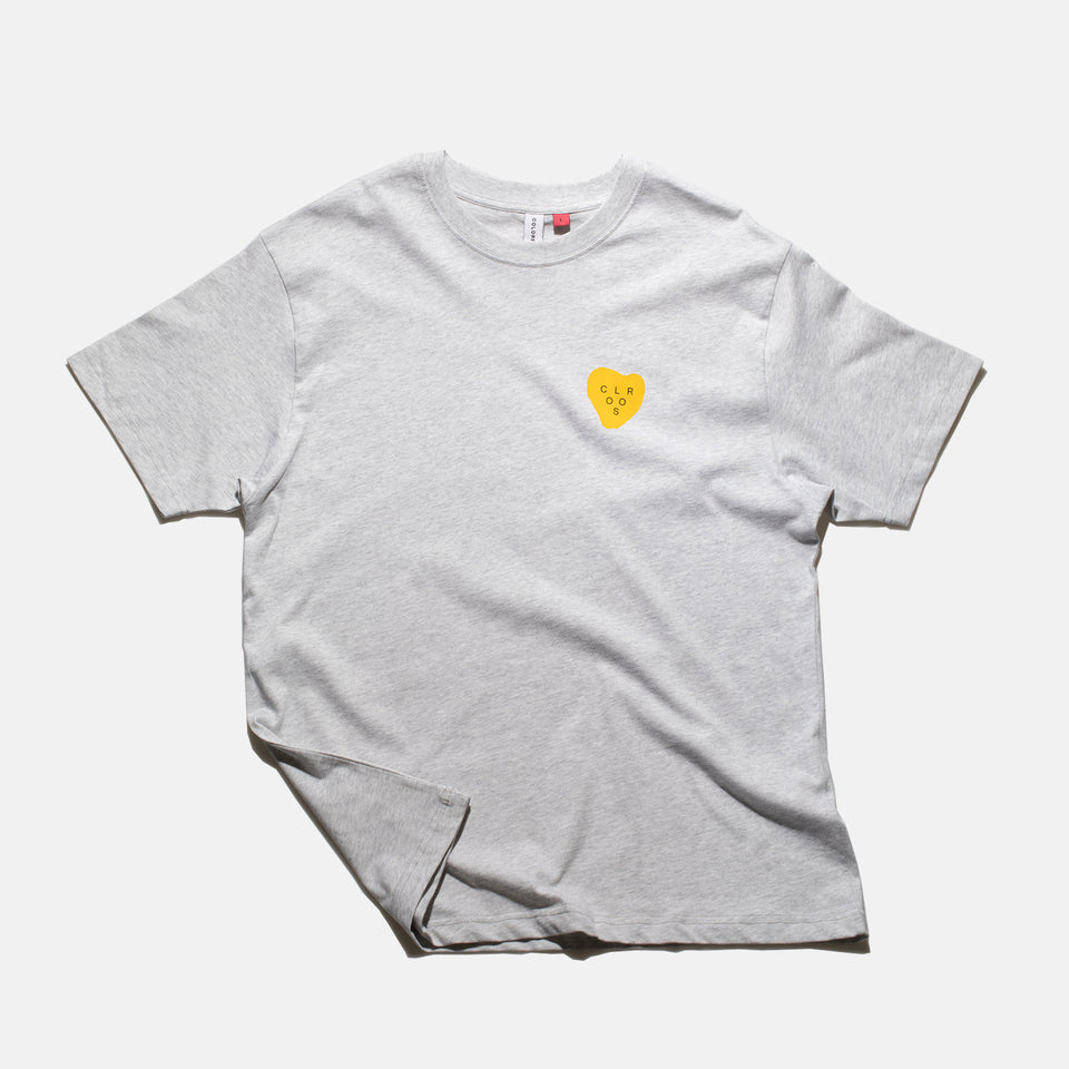 """HEART"" SHIRT GREY"