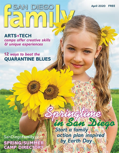 San Diego Family Magazine April 2020