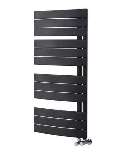 Fuse Anthracite Heated Towel Rail