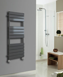 Glow Anthracite Heated Towel Rail