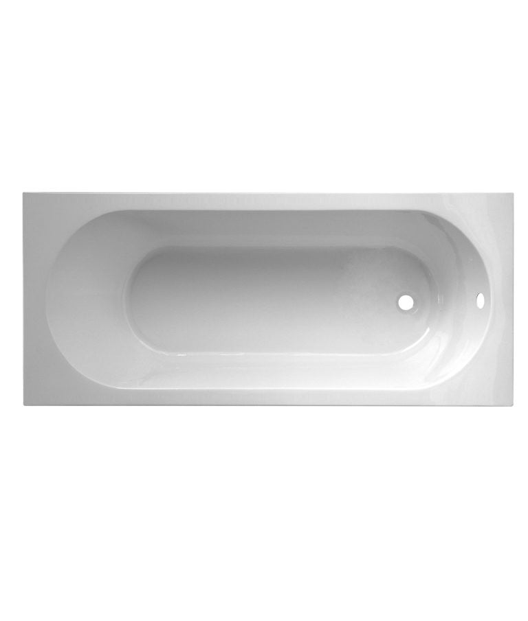 Kurvo Round Single Ended Bath 1500 x 700mm