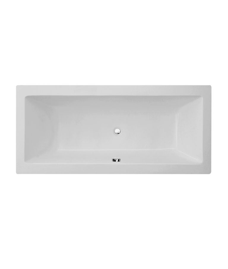 Milan Square Double Ended Bath 1800 x 800mm