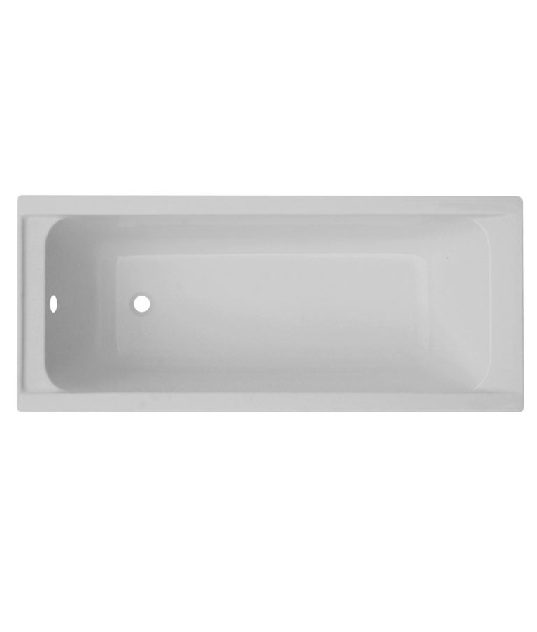 Milan Square Single Ended Bath 1800 x 800mm