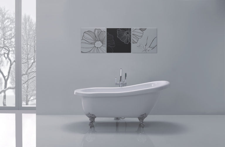 Adare Traditional Free-Standing Bath White