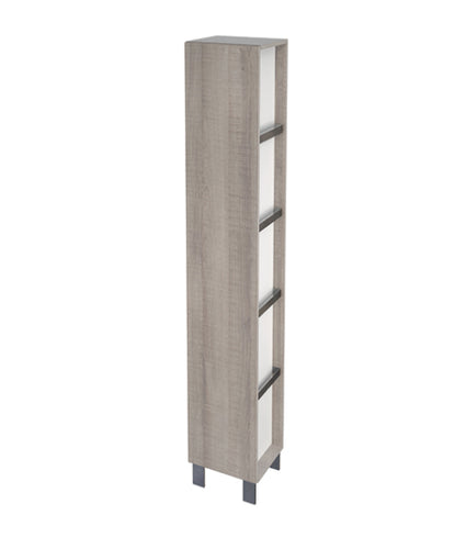 Citi Storage Cabinet Grey Oak