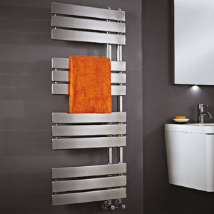 Carla Chrome Heated Towel Rail