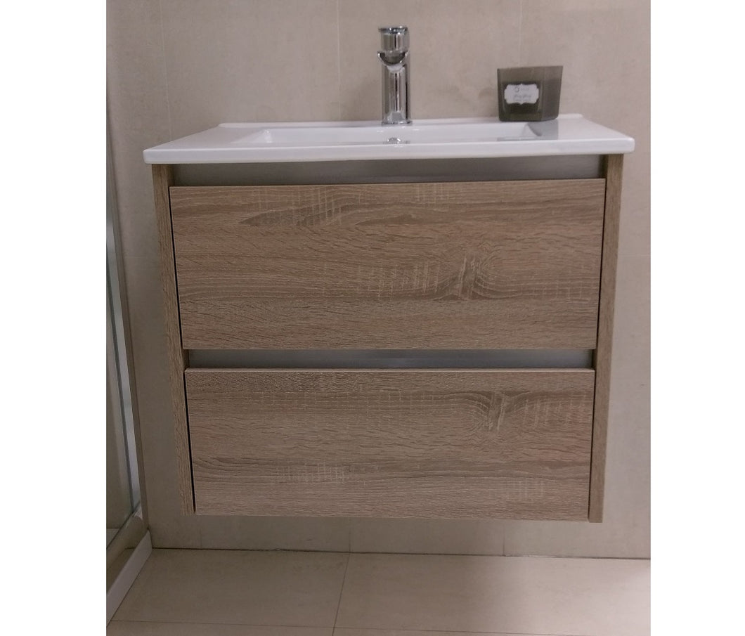 City Wall Hung Vanity Unit 60cm