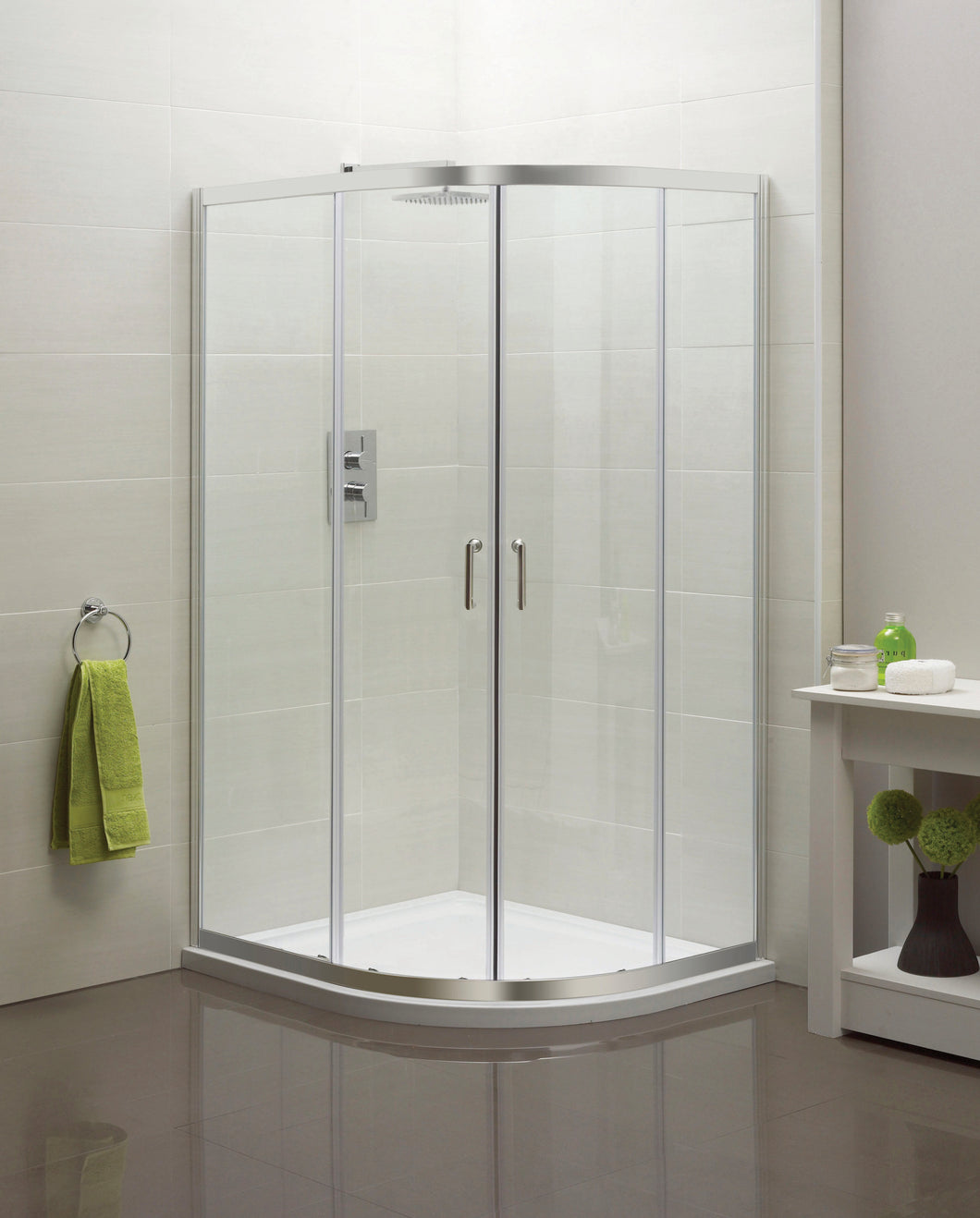 Offset Quadrant Shower Enclosure 1200 x 900