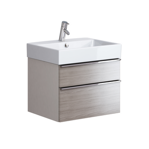 Metropolitan 600mm Unit & Basin Grey Oak