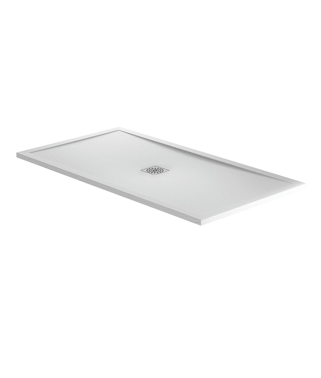 White Slate Rectangular Shower Trays