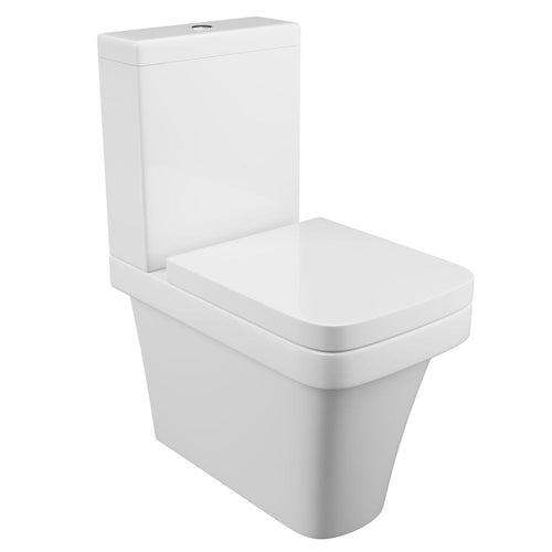 Rivelin Back To Wall Close Coupled Toilet