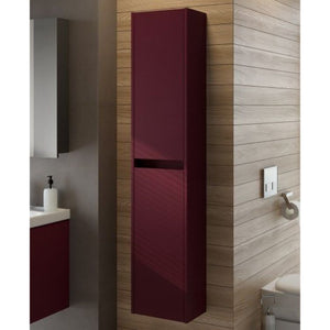 Malta Burgundy Matt 30cm Wall Hung Column