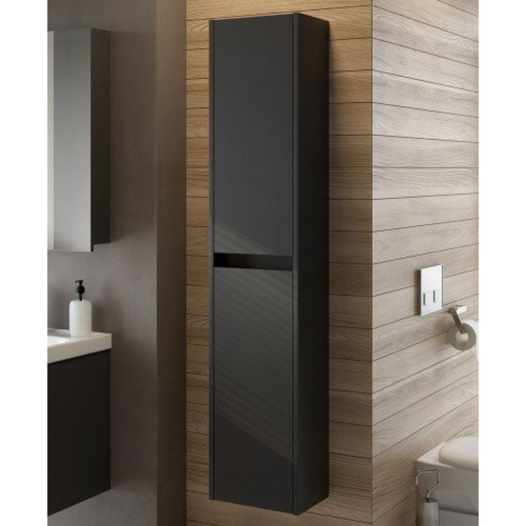 Malta Graphite Matt 30cm Wall Hung Column