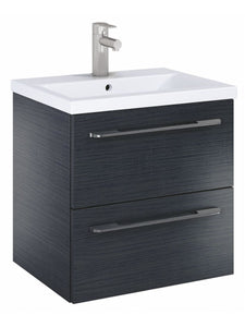 Otto Plus Grey Oak 60 Vanity Unit