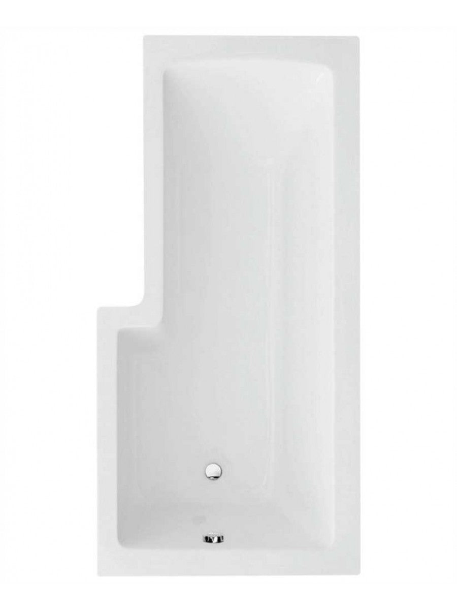 L Shaped Shower Bath