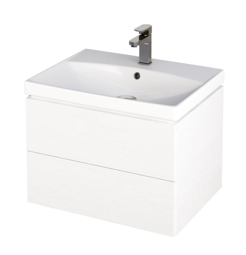Citi 500mm Unit & Basin White