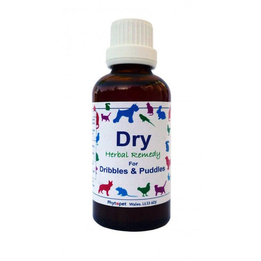 Dog urinary Incontinence support - Dry 30ml - Land of Holistic Pets