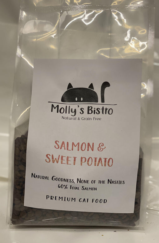 Molly's Bistro Salmon & Sweet Potato Cat Food - Land of Holistic Pets