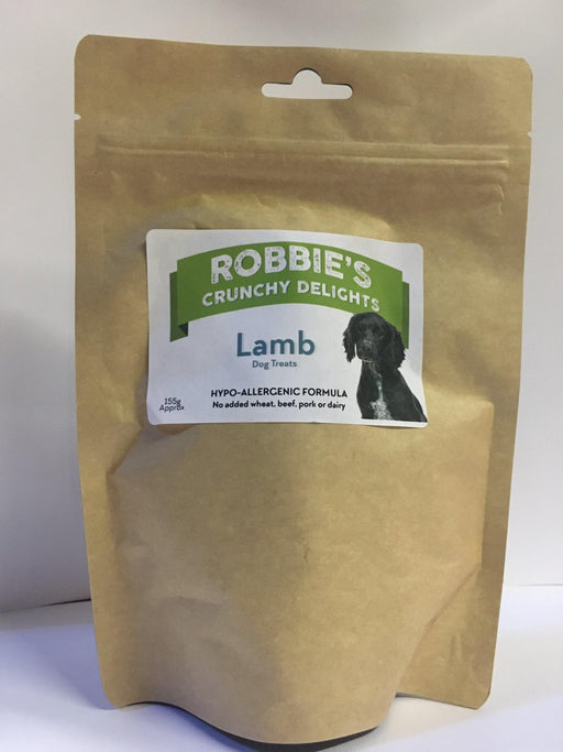 Robbie's Crunchy Delights Lamb - Land of Holistic Pets