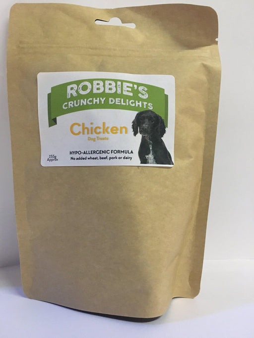 Robbie's Crunchy Delights Chicken - Land of Holistic Pets