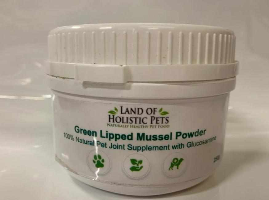 Green-Lipped Mussel Powder - Land of Holistic Pets