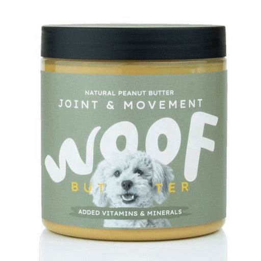 Woof Natural Peanut Butter for Dogs - Joint & Movement - Land of Holistic Pets