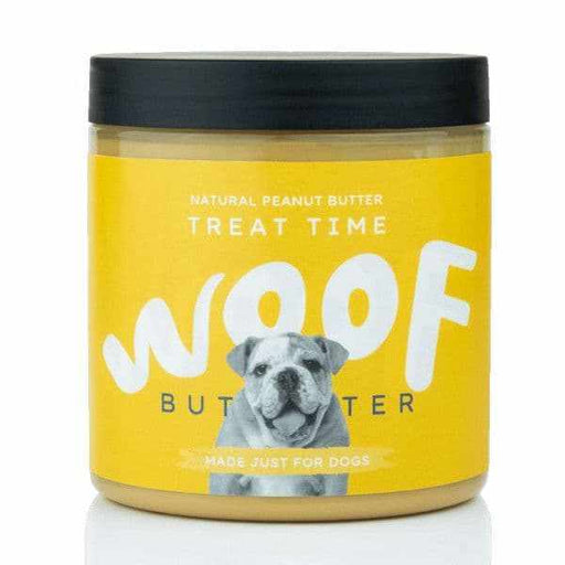Woof Natural Peanut Butter for Dogs -Treat Time - Land of Holistic Pets