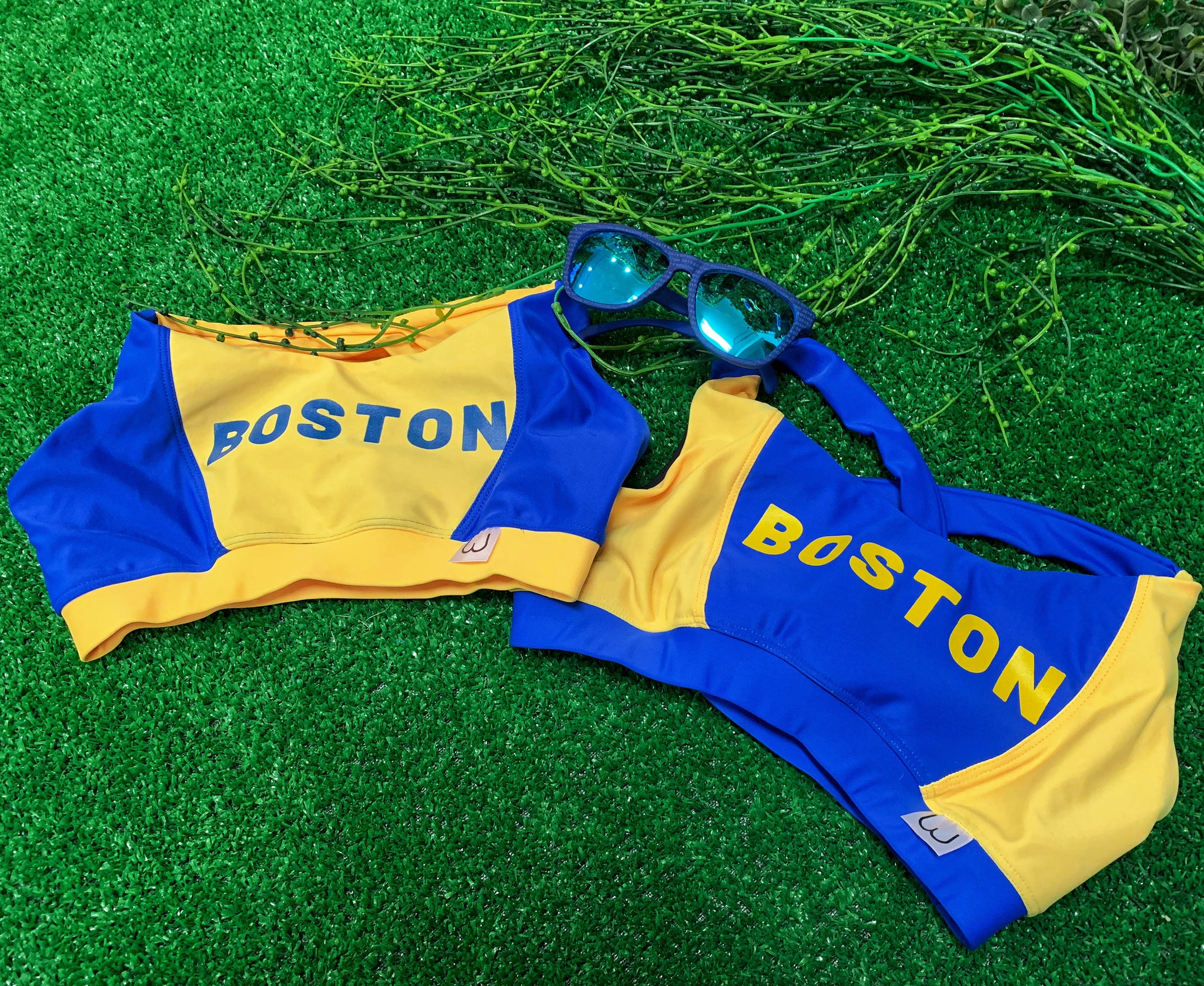 "Boston Blue - ""BOSTON"" Print"