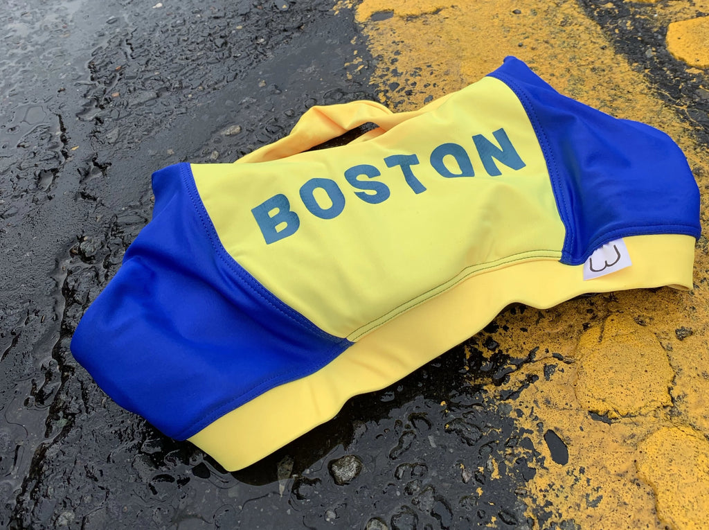 "Boston Yellow - ""Boston"" Print"