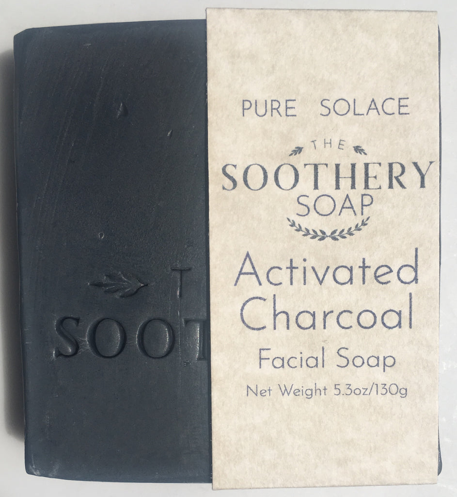Activated Charcoal & Tea Tree Facial Soap Bar