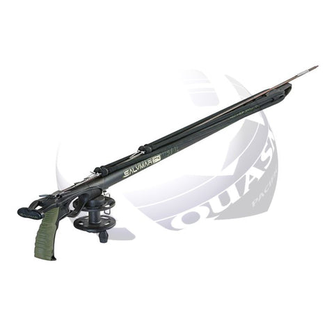 NEW!! Salvimar Metal Speargun + MaxiReel + 60 ft / 200 lb Line