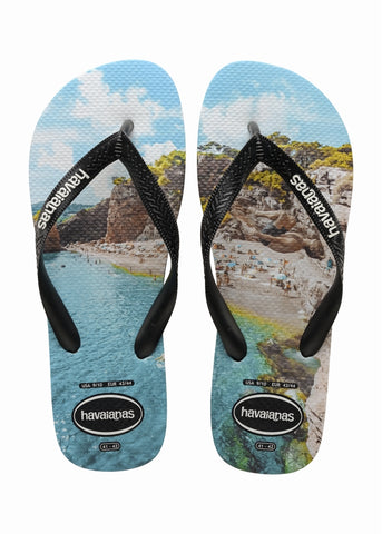 Top photoprint sandal