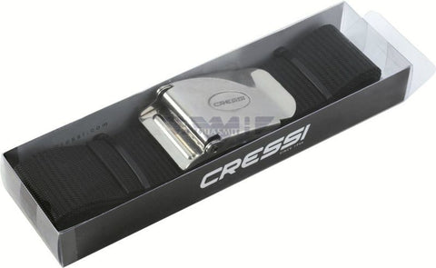 Cressi Nylon Weight Belt with Stainless Steel Buckle