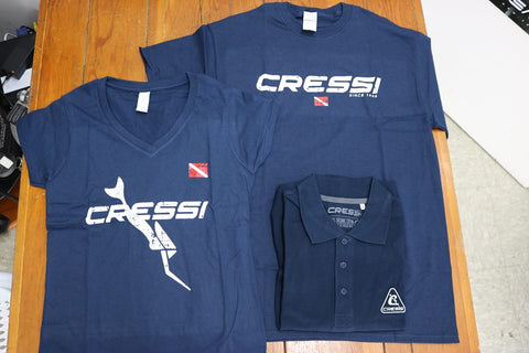 Mens Cressi Limited T-Shirt 100% Organic Cotton