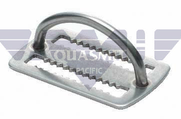 D-Ring Webbing Keeper - Stainless Weight Keeper