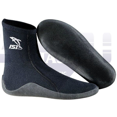 IST 3mm Neoprene Socks with Vulcanized Sole