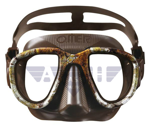OMER Alien Mask 3D Camo Brown