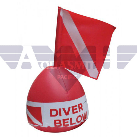 IST Inflatable Signal Buoy with Dive Flag