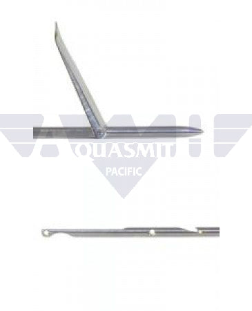 OMER 6.5mm SS Notch Shaft