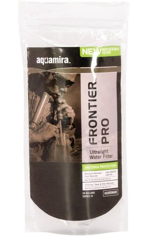 Aquamira Tactical Frontier Pro Ultralight Filter - GRN