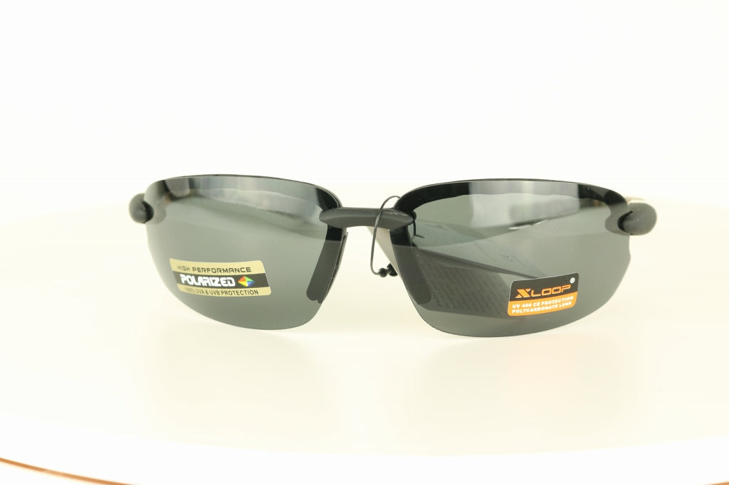 XLoop UV400 Rimless Polarized Sunglasses