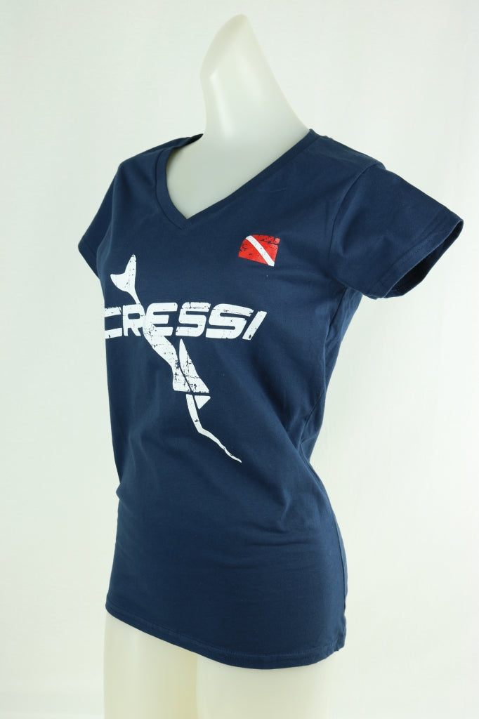 Womens Cressi Limited T-Shirt 100% Organic Cotton