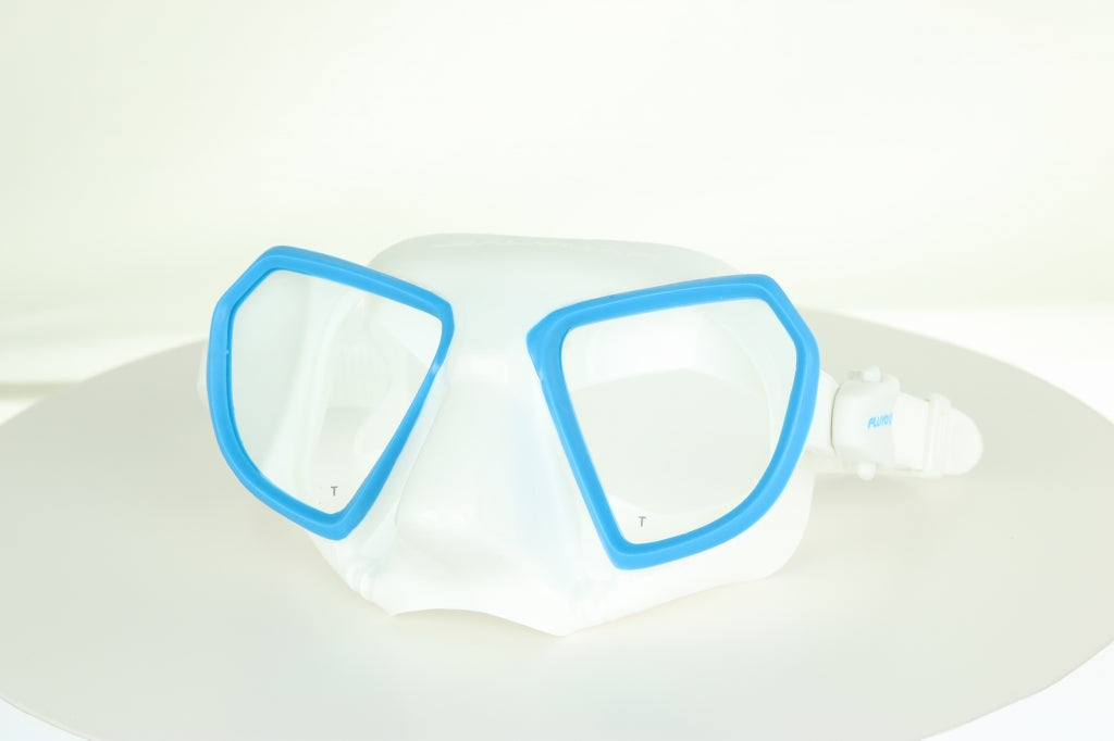 Salvimar White/Blue Noah Mask