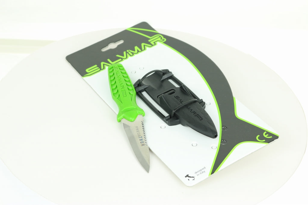 Salvimar Predathor Knife - Acid Green
