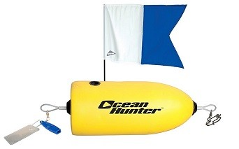 Ocean Hunter Torpedo Float - Hi Viz Yellow