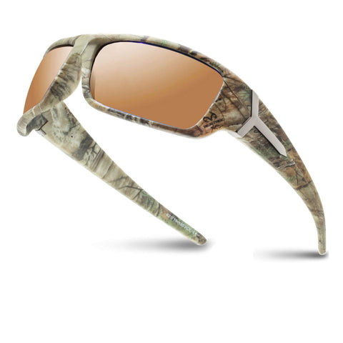 Racer X with Real Tree camo Polarized Sunglasses