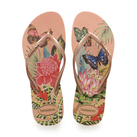 slim tropical sandal