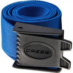 Cressi Nylon Weight Belt with Quick Release Hard Plastic Buckle